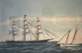 "Clipper Ship ""Pamparo"" <br> Owned by James Bishop and Co."