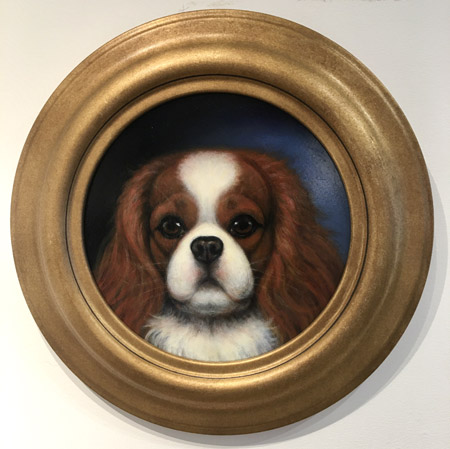 Blenheim Cavalier Head Study