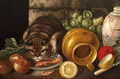 Cat with Still Life