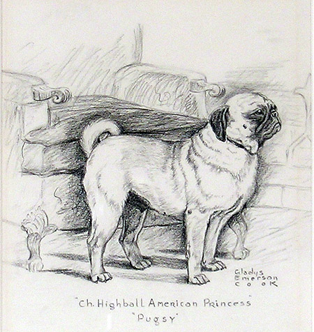 """Ch. Highball American Princess, Pugsy"""